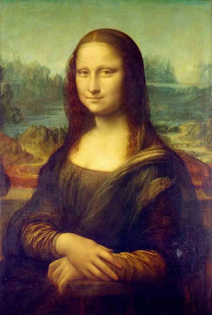 レオナルド・ダ・ヴィンチの作品「モナリザ」