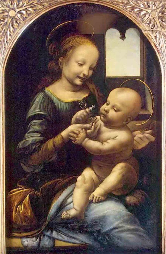 レオナルド・ダヴィンチの作品「ブノアの聖母」