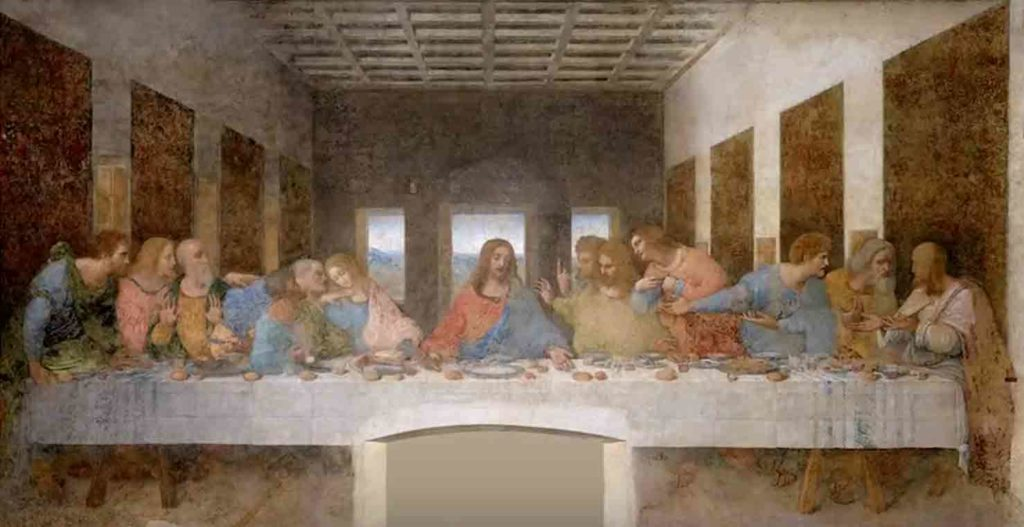 レオナルド・ダ・ヴィンチの絵画作品「最後の晩餐」