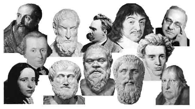 哲学者たちの集まりのイメージ