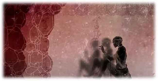 「洞窟の比喩」の物語の冒頭を表すイメージ