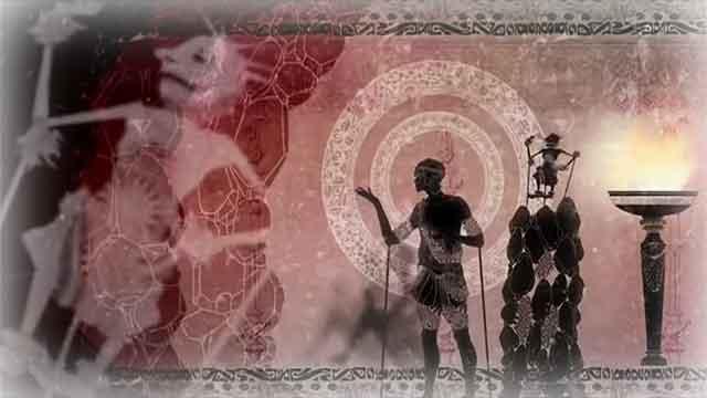 「洞窟の比喩」の物語の結末を表すイメージ