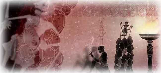 「洞窟の比喩」を表す物語のイメージ