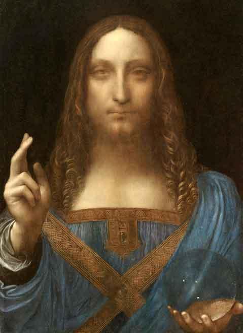 レオナルド・ダヴィンチの作品「サルバトール・ムンディ」