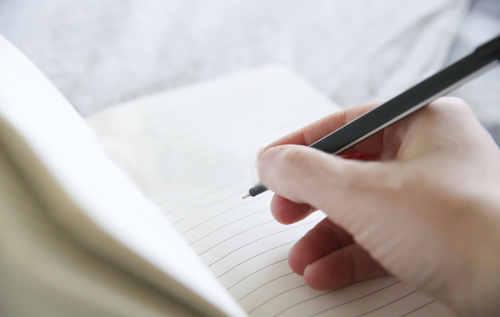 書籍「いくつになってもずっとやりたかったことをやりなさい」の方法「モーニング・ノート」のイメージ