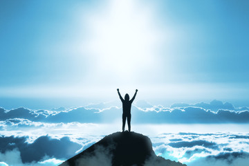 書籍「科学的な適職」より、自分に合う難易度を達成して幸福を得ているイメージ