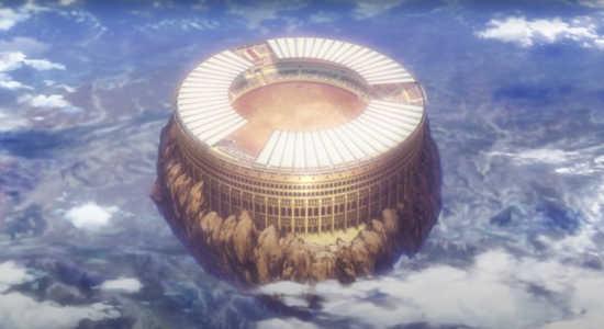 キリスト教視点で終末のワルキューレ(「人類VS神々」試合会場のイメージ)